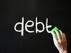 "Photo ""Wiping out debt"" courtesy of http://taxrebate.org.uk"